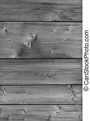 black and white wooden boards