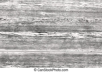 Black-and-white wooden plank texture