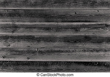 black and white wooden planks as background