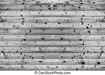 Black and white wooden texture background
