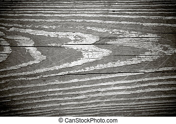 Black and White Woodgrain Texture - A weathered wood grain ...