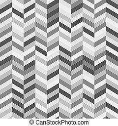 Black and White Zig Zag Abstract Ba - Full Frame Abstract...