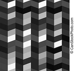 black and white Zigzag background
