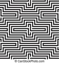 Black and white zigzag pattern - Black and white zigzag ...