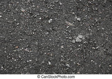 black asphalt texture as background