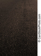 Black Asphalt texture -  Grain black textured background