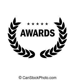 black award logo