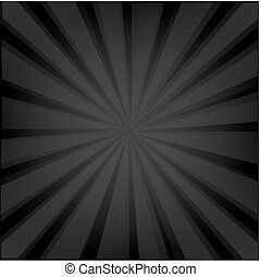 Black Background Texture With Sunburst
