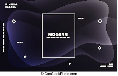 black background with abstract glowing shapes