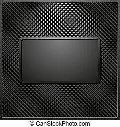 black background with dark panel