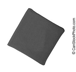 Black bag isolated on white