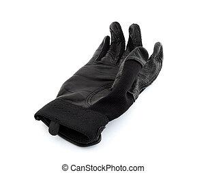 Black baseball batter glove