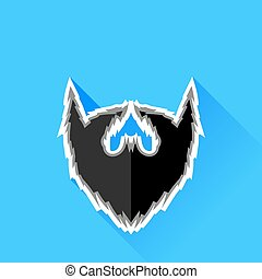 Black Beard Icon