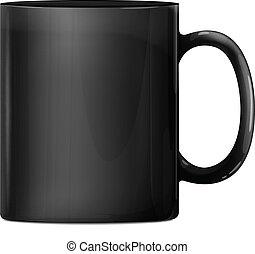 Black Big Mug