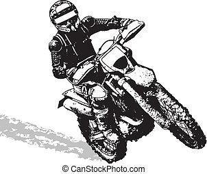 biker - black biker