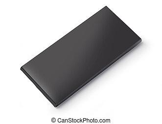 Black blank box
