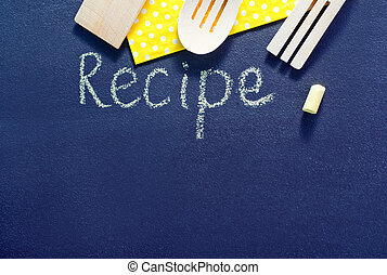 black board for recipe