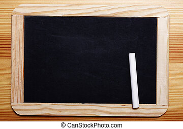 Black Board with chalk