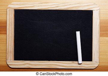 Black Board with chalk