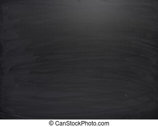 Black board with the traces of chalk