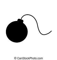 black bomb icon