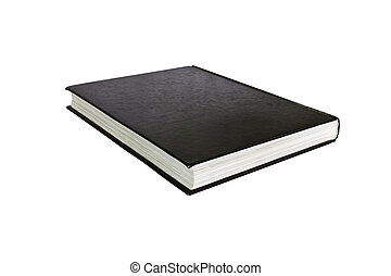 black book isolated