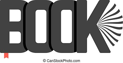 black book logo with bookmark