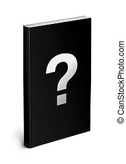 black book template - black cover book template isolated on...