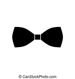 black bow tie icon