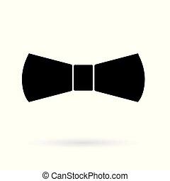 black bow tie icon
