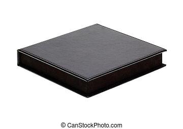 black box isolated on white background