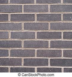 Black brick wall composition