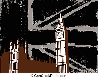 Black British  Design with Big Ben