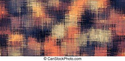black brown and orange painting