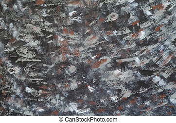 Black, brown, gray painted texture , old and worn wooden background