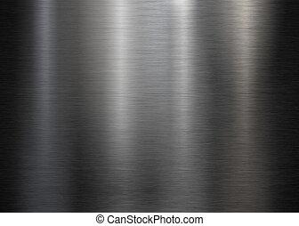 Black brushed metal plate or texture