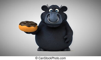 Black bull - 3D Animation