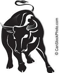 Black bull  - Angry Black bull
