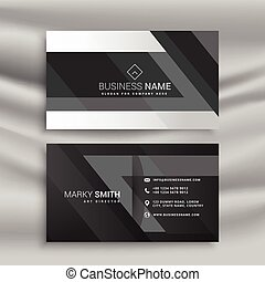 Business card with abstract printed circuit board vector eps busitess card templates with circuit board black business card with abstract shapes colourmoves