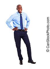 black businessman full length