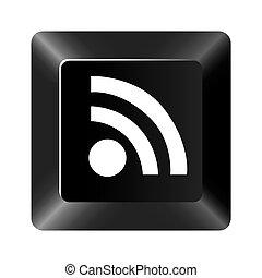 black button wife icon
