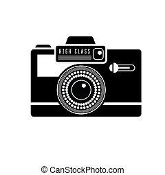 Black camera icon