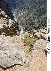 Black Canyon rim