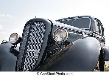 Black car 1930s - Classic and vintage cars - european car ...