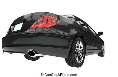 Black Car Taillights