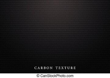 Black carbon texture. Dark background.