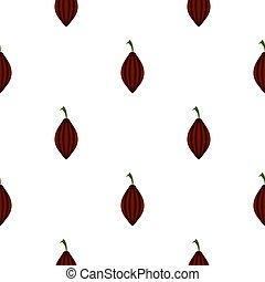 Black cardamom pattern flat