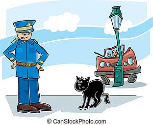 Black cat curse