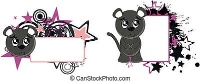black cat vector copyspace2 - black cat vector copyspace in...
