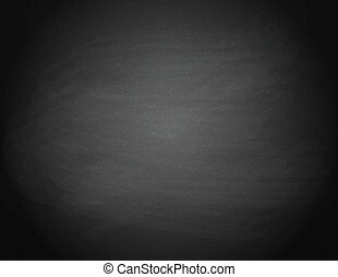 Black chalkboard background.
